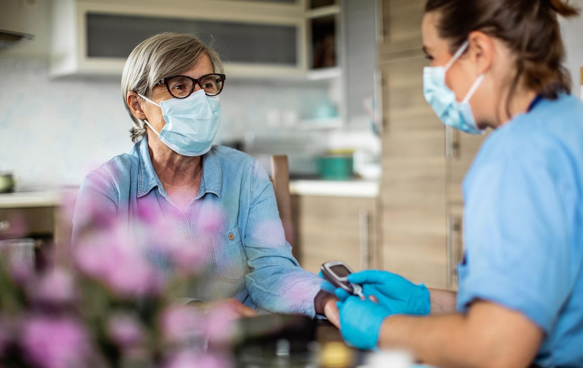 Continuité des soins avec la mise en place de l'HAD Hospitalisation à domicile avec l'HADAR à Avignon